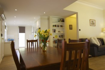 Pepper Tree Open Lounge, Dining through to Kitchen...